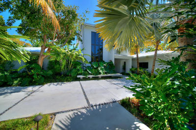 Key West FL Single Family Home For Sale: $4,950,000