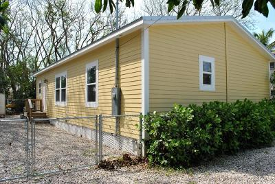 Key Largo Single Family Home For Sale: 207 W Indies Road