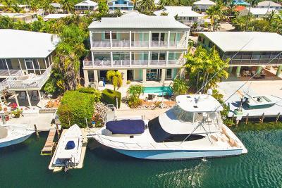 Islamorada Single Family Home For Sale: 132 Harbor Lane