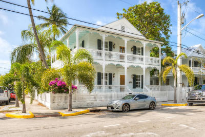 Key West FL Single Family Home For Sale: $2,690,000