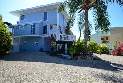 Key Largo Single Family Home For Sale: 878 Ellen Drive