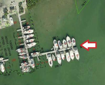 Monroe County Boat Slip For Sale: 12399 Overseas Highway #SLIP 54