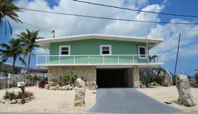 Key Largo Single Family Home For Sale: 901 Lobster Lane
