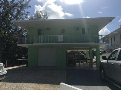 Key Largo Single Family Home For Sale: 34 Jean La Fitte Drive