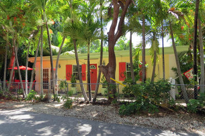 Key Largo Single Family Home For Sale: 118 Poinsetta Drive