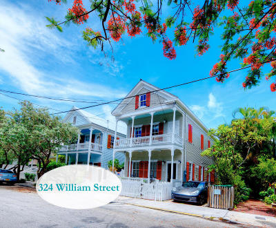 Key West FL Single Family Home For Sale: $2,600,000