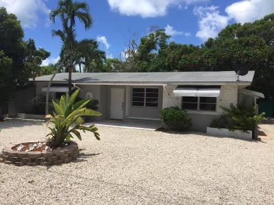 Key Largo Single Family Home For Sale: 1104 Grand Street