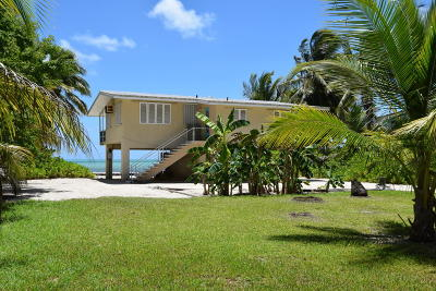 Single Family Home For Sale: 75401 Overseas Highway