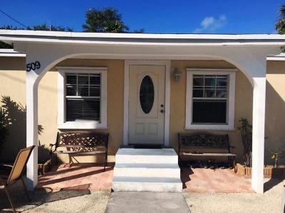 Marathon Single Family Home For Sale: 509 50th Street Gulf