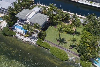 Key Largo Single Family Home For Sale: 543-544 Ocean Cay
