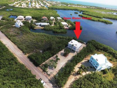 Key Largo Single Family Home For Sale: 217 Harbor Drive