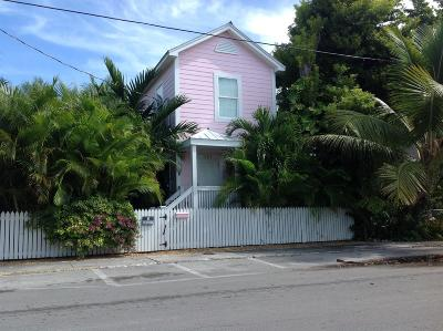 Key West Single Family Home For Sale: 1103 Thomas Street