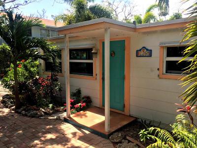 Tavernier Single Family Home For Sale: 126 Lowe Street