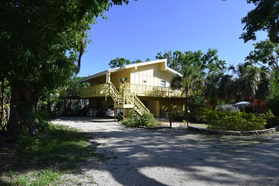 Key Largo Single Family Home For Sale: 586 Bonito Avenue