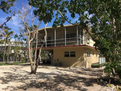 Islamorada Single Family Home For Sale: 225 Coral Road