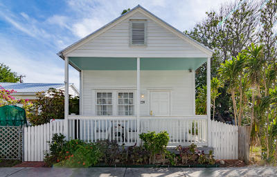 Key West FL Single Family Home For Sale: $695,000