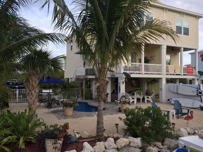 Monroe County Half Duplex For Sale: 235 Sombrero Beach Road #1