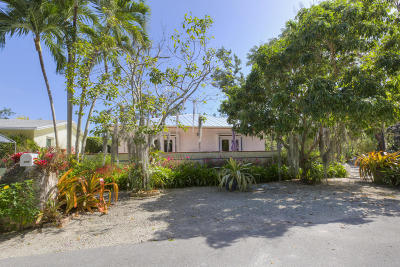 Key Largo Single Family Home For Sale: 100 1st Street