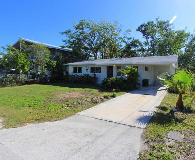 Key Largo Single Family Home For Sale: 114 Marina Avenue