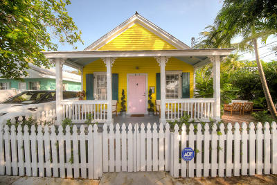 Key West FL Single Family Home For Sale: $699,000
