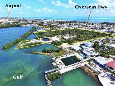 Marathon Commercial For Sale: 6200 Overseas Highway