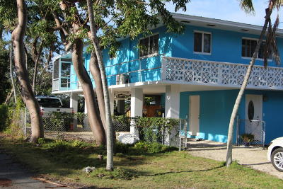 Key Largo Single Family Home For Sale: 39 Treasure Boulevard