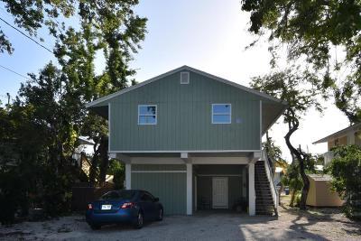 Key Largo Single Family Home For Sale: 36 Gumbo Limbo Avenue