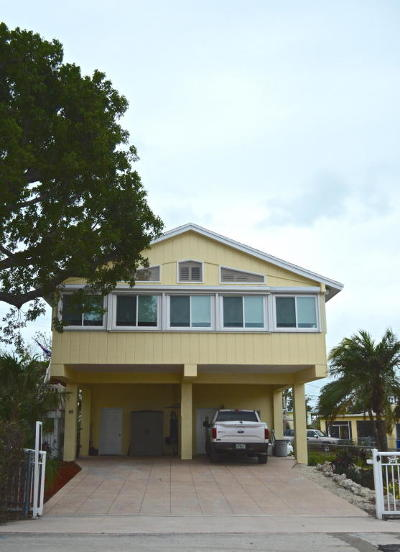 Key Largo Single Family Home For Sale: 10 Seaside Avenue