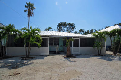 Key Largo Single Family Home For Sale: 17 Atlantic Boulevard