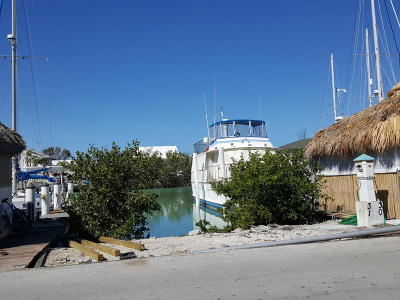 Big Pine, Big Pine Key, Conch, Duck, Key Colony, Key Colony Beach, Layton, Long Key, Marathon, No Name, Summerland, Summerland Key Boat Slip For Sale: 100 Ave I #31