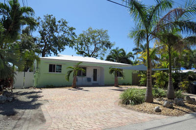 Key Largo Single Family Home For Sale: 15 Bass Avenue