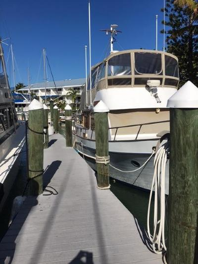 Big Pine Key, County, Islamorada, Key Colony, Key Colony Beach, Key Largo, Key West, Layton, Long Key, Marathon, Other, Summerland Key, Tavernier Boat Slip For Sale: 97 Coco Plum Drive #SLIP T-8