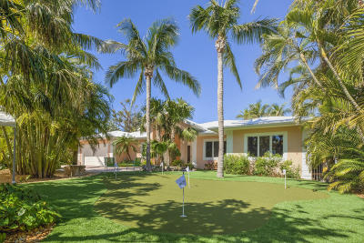 Islamorada Single Family Home For Sale: 202 Plantation Boulevard