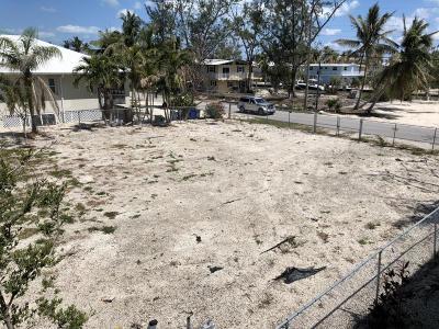 Islamorada Residential Lots & Land For Sale: 104 Cortez Drive