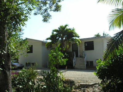Key Largo Multi Family Home For Sale: 7 Sunset Road