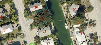 Monroe County Residential Lots & Land For Sale: 805 E Caribbean Drive