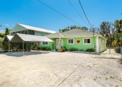 Key Largo Single Family Home For Sale: 110 Marina Avenue