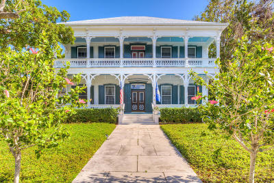 Key West FL Single Family Home For Sale: $5,700,000