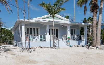 Key Largo Single Family Home For Sale: 7 Ocean View Boulevard