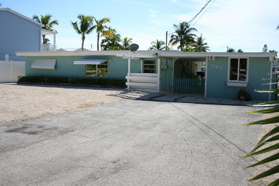Key Largo Single Family Home For Sale: 787 Bostwick Drive