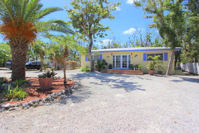 Key Largo Single Family Home For Sale: 225 Gasparilla Drive
