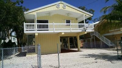 Key Largo Single Family Home For Sale: 19 Lycaloma Avenue