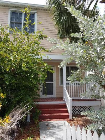 Key West Condo/Townhouse For Sale: 19 Whistling Duck Lane