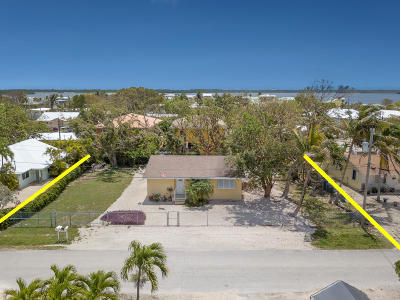 Key Largo Single Family Home For Sale: 328 3rd Road