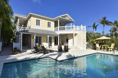 Key West Single Family Home For Sale: 23 Sunset Key Drive