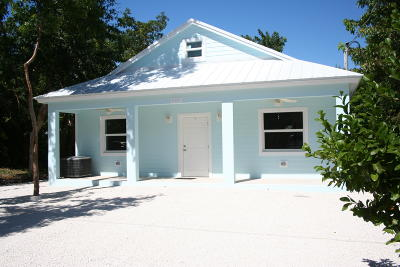 Tavernier Single Family Home For Sale: 489 Beach Road