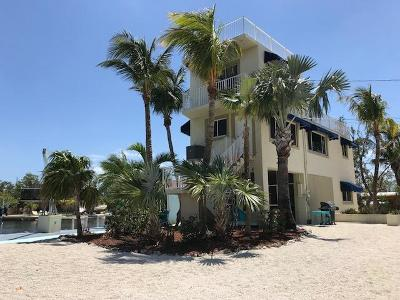 Key Largo Single Family Home For Sale: 1 Sunset Boulevard