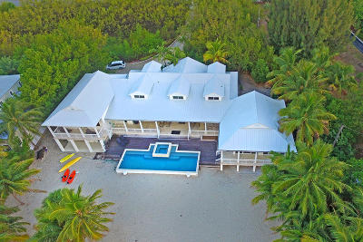 Plant Key Colony (90.0) Single Family Home For Sale: 75971 Overseas Highway