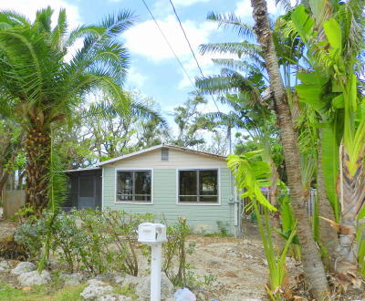 Tavernier Single Family Home For Sale: 115 Coconut
