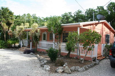 Tavernier Single Family Home For Sale: 168 Lowe Street